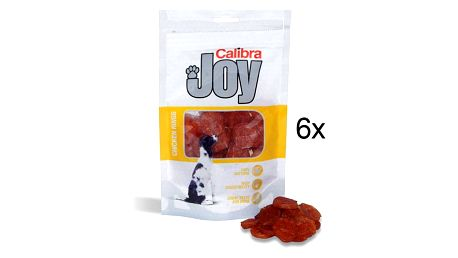 Calibra Joy Dog Chicken Rings 6 x 80g