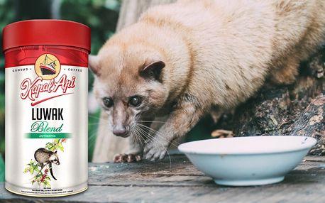 Lahodná cibetková káva z Indonésie od Kapal Api