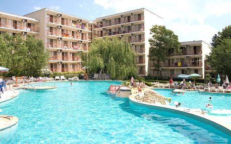 Bulharsko - Albena na 4 až 8 dní, all inclusive s dopravou letecky, Ostravy nebo Prahy 900 m od pláže