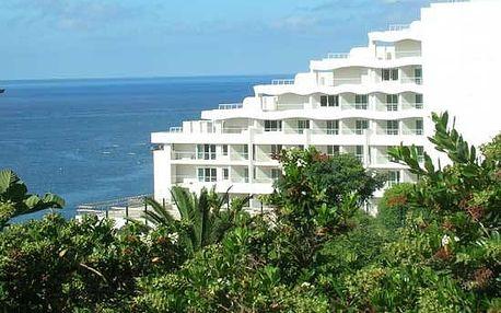 Madeira - Funchal na 8 dní, polopenze nebo snídaně s dopravou letecky z Prahy přímo na pláži