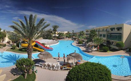 Tunisko - Djerba na 8 dní, polopenze s dopravou letecky z Prahy 250 m od pláže