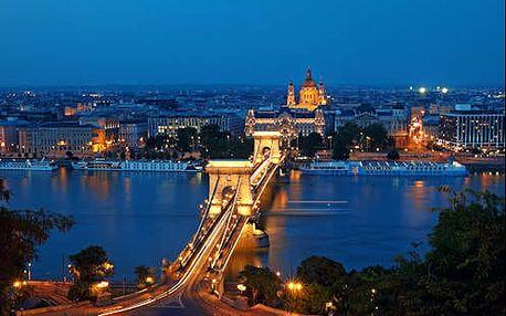 Luxusní wellness pobyt v centru Budapešti v 4* hotelu s jedinečnými výhledy