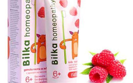 Dětská zubní pasta Bilka Homeopathy 50 ml