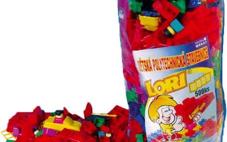 LORI Stavebnice LORI 500 balení pro školky – plast