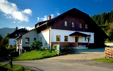 Horský penzion Pepovka v chráněné krajinné oblasti Hrubého Jeseníku