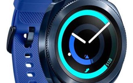 Chytré hodinky Samsung Gear Sport modrý (SM-R600NZBAXEZ )