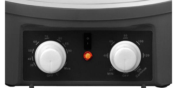 Zavařovací hrnec Concept ZH-0030 černý/bílý4