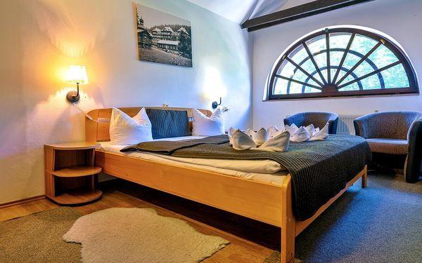 Dvoulůžkový pokoj MINI s manželskou postelí nebo oddělenými postelemi5