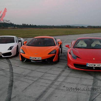 Jízda v Mercedes Benz AMG GTS vs. Ferrari, Lamborghini, McLaren