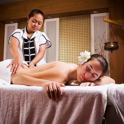 60 minut thajské tradiční masáže v centru Brna. Uvolněte své tělo a mysl při tradiční thajské masáži