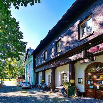 Hotel Džbán zakládající si na tradici a své starobylosti