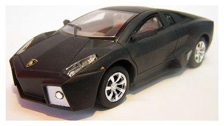 RC model autíčka na vysílačku s LED diodami i turbem