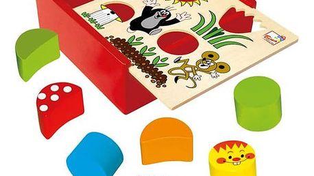 Krabička s tvary BINO - Krtkek