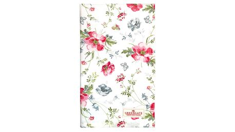 GREEN GATE Kuchyňská utěrka Meadow white, růžová barva, bílá barva, multi barva, textil