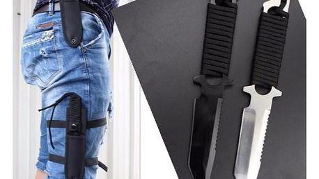 Lovecký nůž v textilním pouzdře