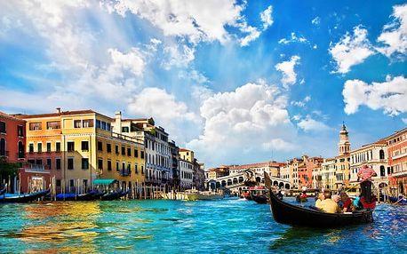 Benátsko: pobyt se snídaní