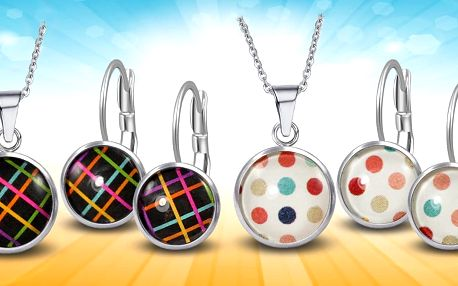Ocelové sety s barevnými motivy