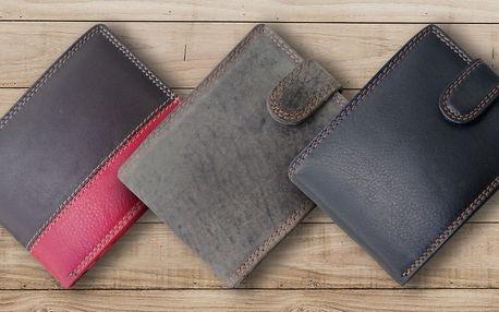Elegantní kožené pánské peněženky v 7 stylech