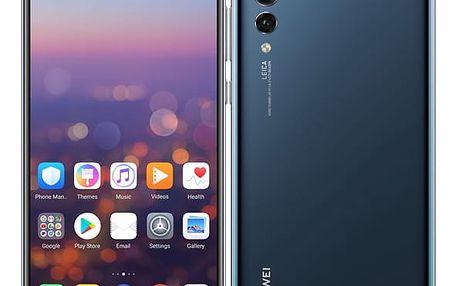 Mobilní telefon Huawei P20 Pro Dual SIM modrý + dárek (SP-P20PDSLOM)