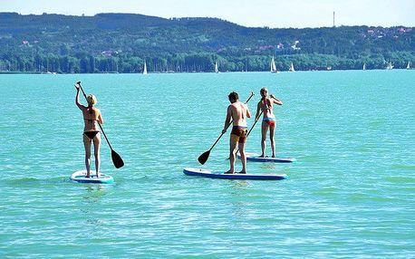 Proslulý Balaton v létě i na podzim ve skvěle umístěném hotelu s wellness a polopenzí + zapůjčení kol a sleva na procedury