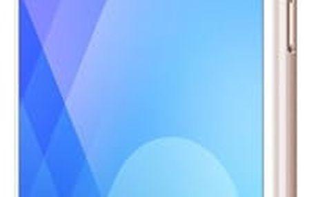 Mobilní telefon Meizu M6 Note zlatý + dárek (M721H/32GB/Gold)