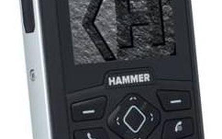 myPhone HAMMER 3 Plus Dual SIM (TELMYHHA3PSI) stříbrný