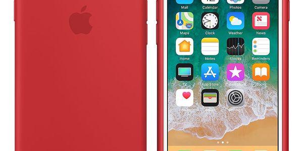 Kryt na mobil Apple pro iPhone 8/7 (PRODUCT)RED (MQGP2ZM/A) červený2