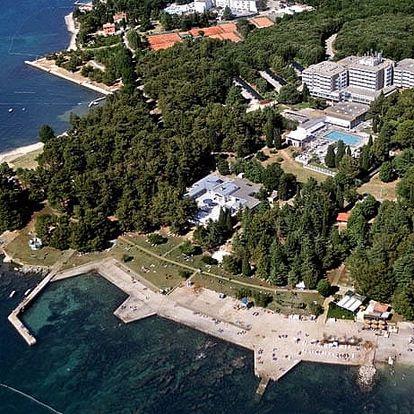 Chorvatsko - Poreč na 4 dny, polopenze s dopravou vlastní 150 m od pláže