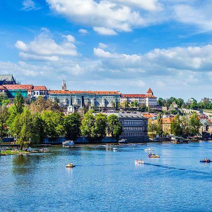 2 až 4denní pobyt v prosluněné Praze se snídaní