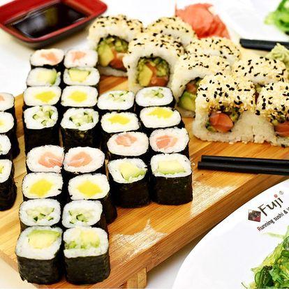Sushi sety dle výběru v restaurantu Fuji nebo s sebou