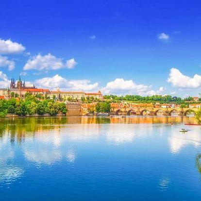 Praha přímo v centru luxusně a se snídaní