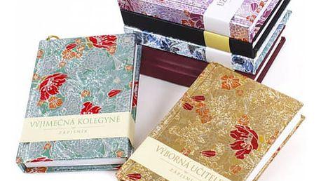 Krásný dárkový zápisník