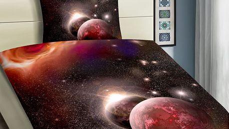 XPOSE ® 3D povlečení GALAXIE 140x200, 70x90