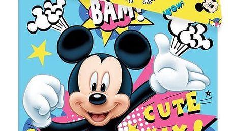 Jerry Fabrics Dětské povlečení Mickey BAM! micro, 140 x 200 cm, 70 x 90 cm