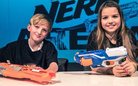 Letní střílečka v Nerf Areně pro děti do 15 let