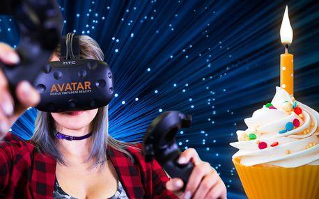 Narozeninová oslava ve virtuální realitě