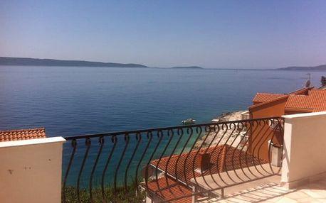 8denní pobyt pro 1 osobu u moře v apartmánu Peter na ostrově Čiovo v Chorvatsku