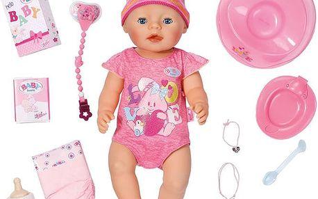 ZAPF Baby Born Interaktivní panenka – holčička, 43 cm