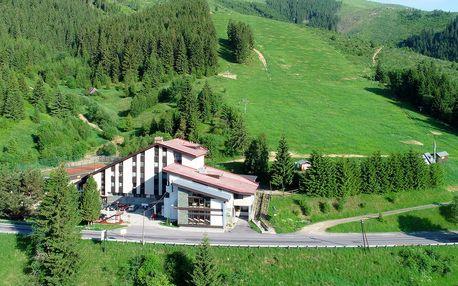 Dovolená v Nízkých Tatrách s turistickými trasami v hotelu Barbora