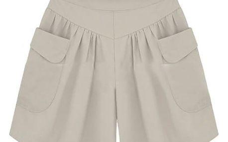 Kraťasy se širokými nohavicemi