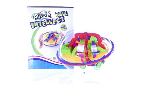 Maze Hlavolam Ball intellect bludiště 3D koule velká