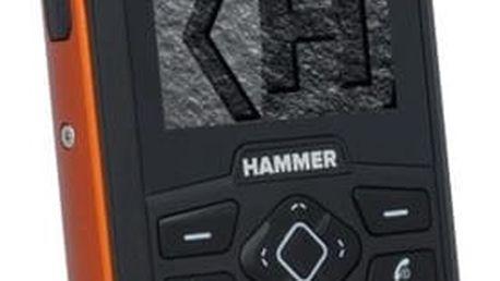 Mobilní telefon myPhone HAMMER 3 Dual SIM oranžový + dárek (TELMYHHA3OR)