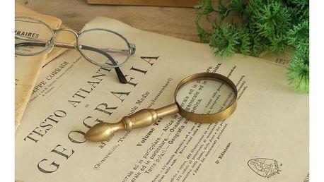 Zlatá lupa na čtení Orchidea Milano Classic