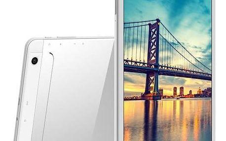 "iGET Dotykový tablet SMART G101 10.1"", 8 GB, WF, BT, 3G, GPS, Android 7.0 - stříbrný/bílý"