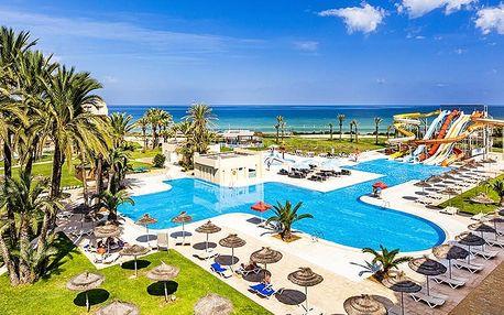 Tunisko - Monastir na 8 dní, all inclusive s dopravou letecky z Brna nebo Prahy přímo na pláži