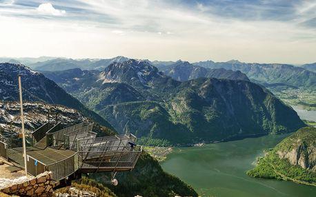 Výlet na Dachstein a vyhlídku Pět prstů