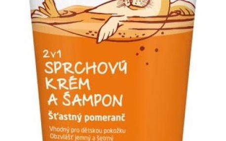 WELEDA 2v1 sprchový krém a šampon Šťastný pomeranč 150 ml