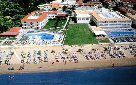 Řecko - Zakynthos na 7 dní, snídaně s dopravou letecky z Prahy přímo na pláži