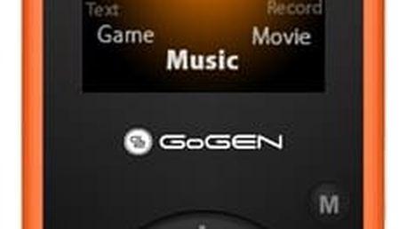 MP3 přehrávač GoGEN Maxipes Fík MAXI MP3 O oranžový