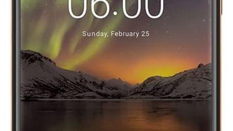 Mobilní telefon Nokia 6.1 Dual Sim (11PL2B01A10) černý Software F-Secure SAFE, 3 zařízení / 6 měsíců v hodnotě 979 Kč + DOPRAVA ZDARMA